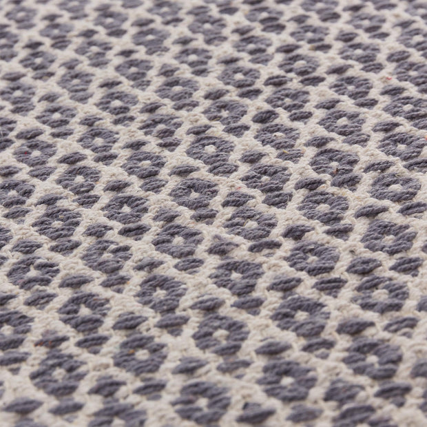 Jelum Rug [Grey/Natural white]