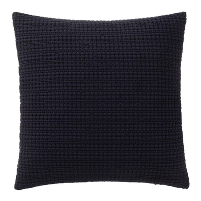 Anadia cushion cover, dark blue, 100% cotton