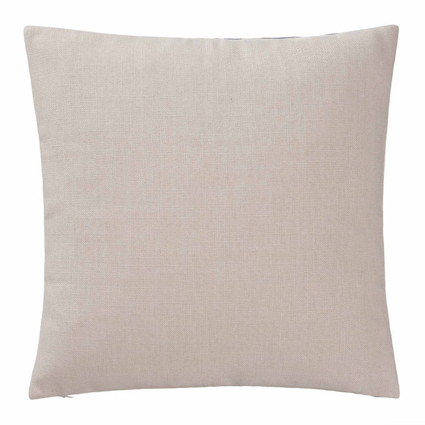 Annaside cushion cover, ultramarine & natural, 100% linen | URBANARA cushion covers