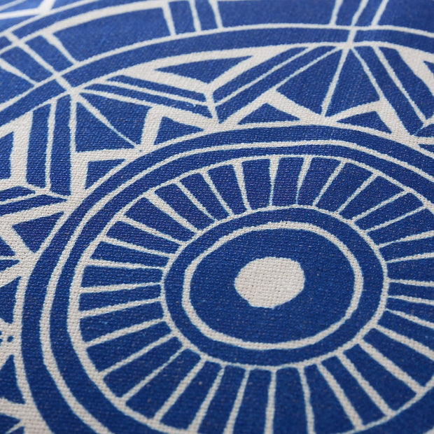 Annaside cushion cover in ultramarine & natural, 100% linen |Find the perfect cushion covers