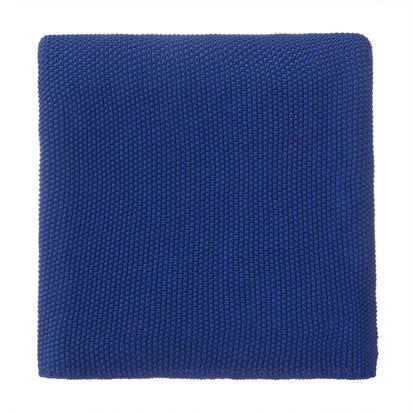 Antua blanket, ultramarine, 100% cotton