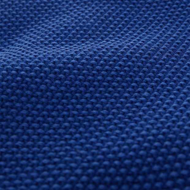 Antua blanket, ultramarine, 100% cotton |High quality homewares