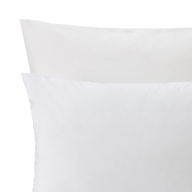 Aliseda pillowcase, white, 100% combed cotton | URBANARA percale bedding