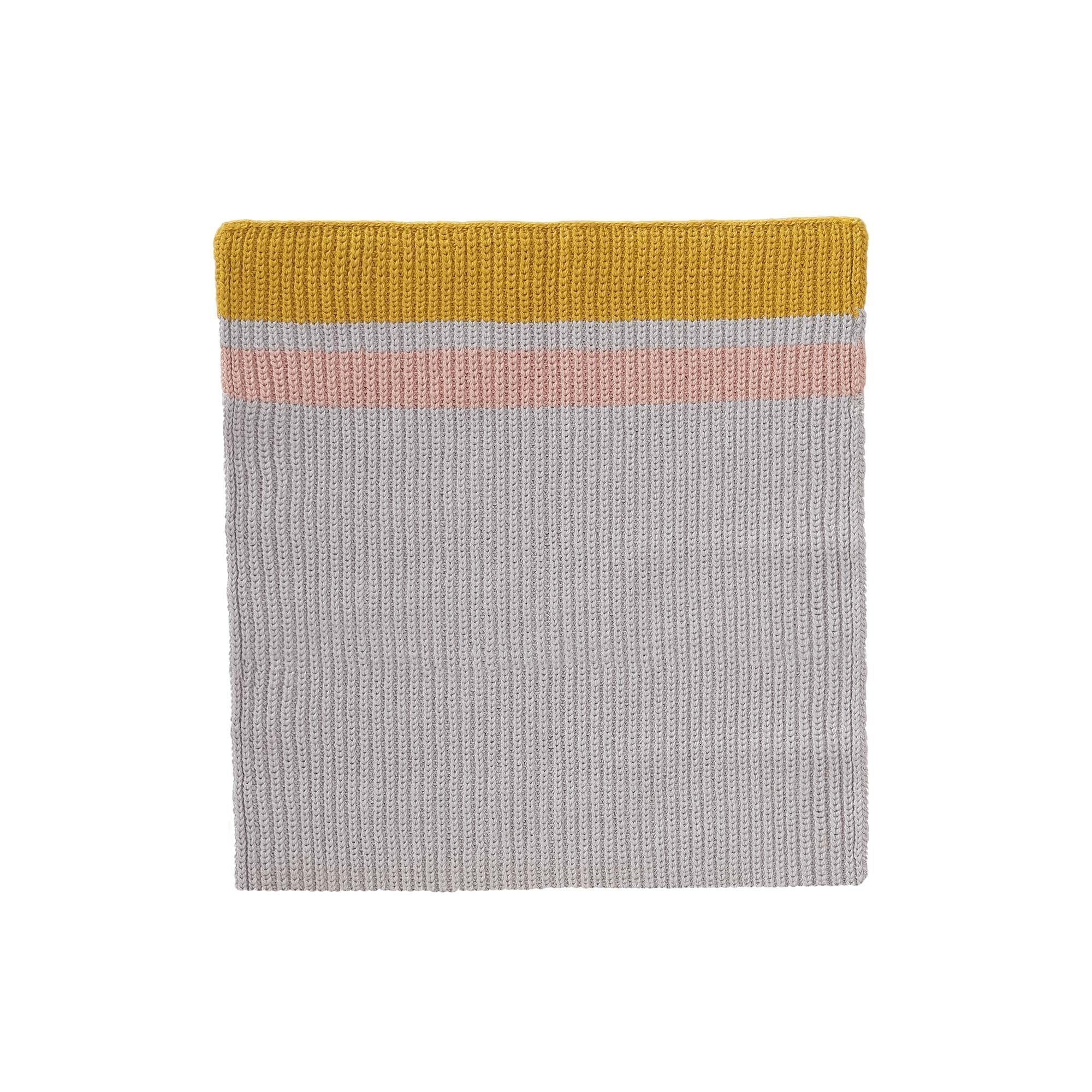 Silver grey & Bright mustard & Light pink Estrela Geschirrtuch | Home & Living inspiration | URBANARA