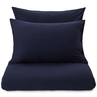 Sabugal duvet cover, darkblue melange, 100% cotton