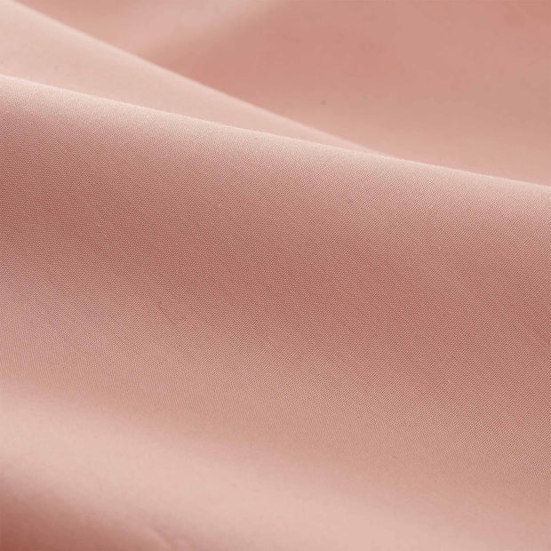 Perpignan duvet cover in light dusty pink, 100% combed cotton |Find the perfect percale bedding