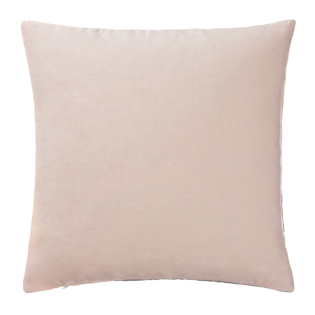 Cataya cushion cover, light grey & charcoal & light pink, 100% linen |High quality homewares
