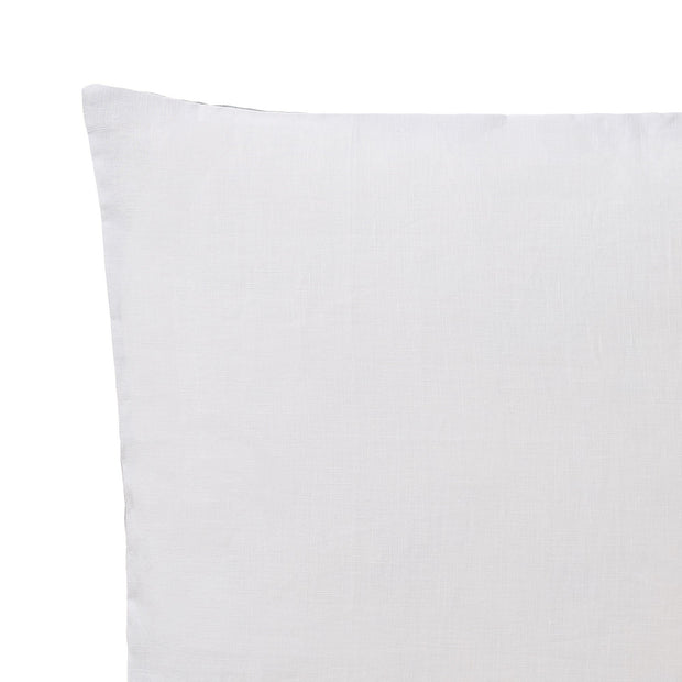 Cataya cushion cover, white & light green grey & natural, 100% linen |High quality homewares