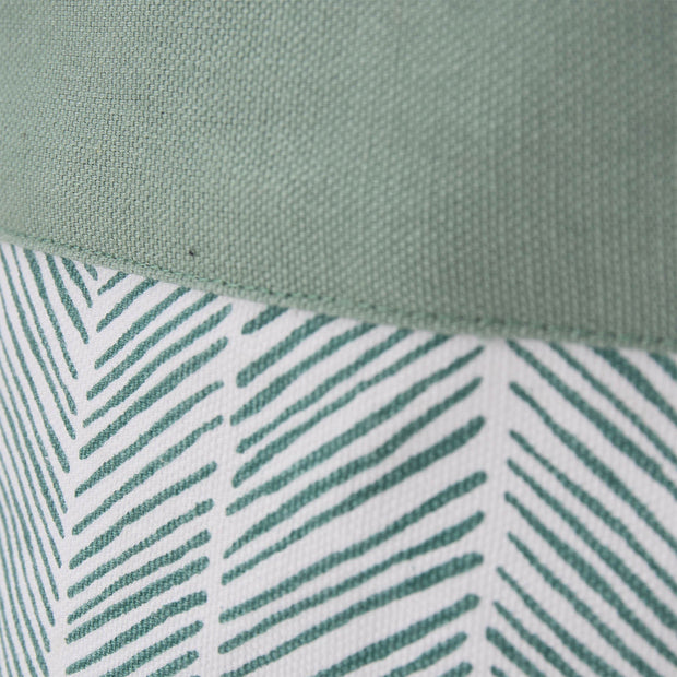 Sharda storage, grey green, 100% cotton & 100% polyester |High quality homewares