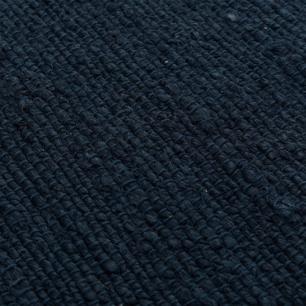 Gorbio rug, blue, 90% jute & 10% cotton |High quality homewares
