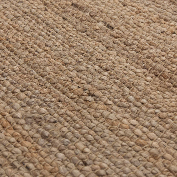 Gorbio rug, natural, 90% jute & 10% cotton |High quality homewares