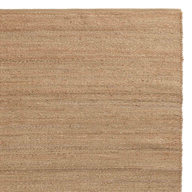Gorbio rug, natural, 90% jute & 10% cotton