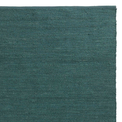 Gorbio runner, grey green, 90% jute & 10% cotton