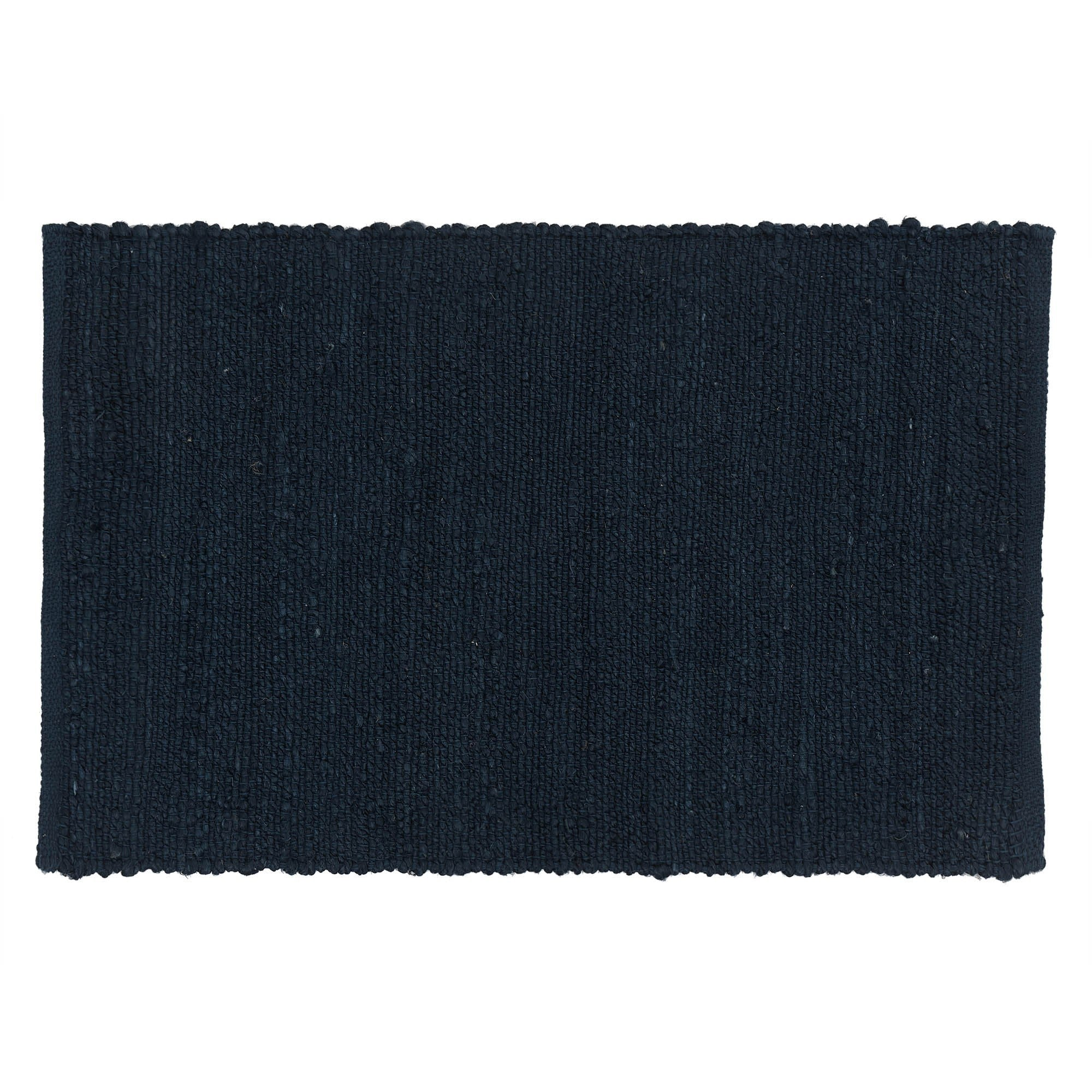 Gorbio doormat, blue, 90% jute & 10% cotton