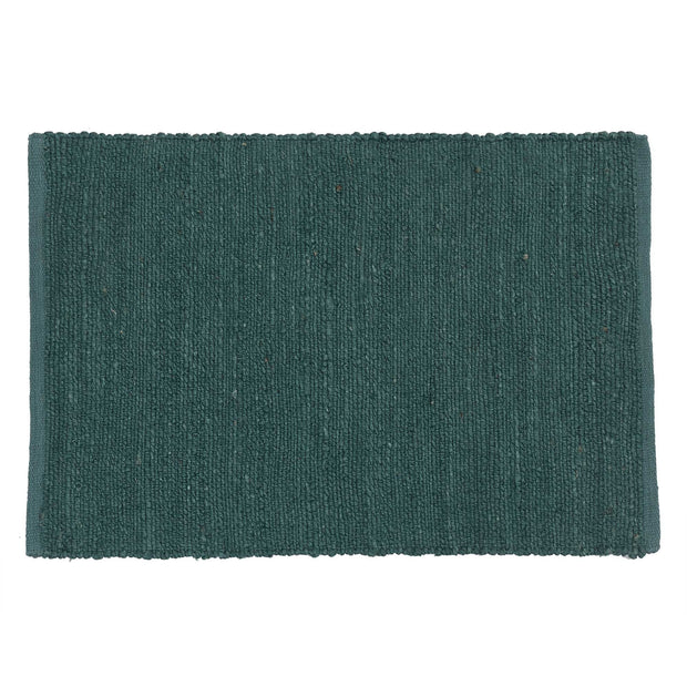 Gorbio doormat, grey green, 90% jute & 10% cotton