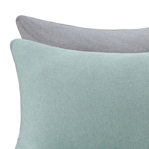 Light grey green melange & Grey melange & Grey Coria Bettdeckenbezug | Home & Living inspiration | URBANARA