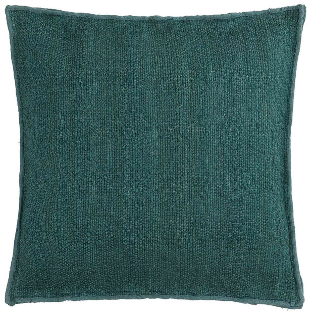 Silani cushion, grey green, 90% jute & 10% cotton
