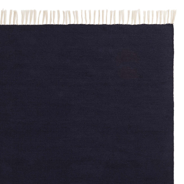 Udaka rug, dark blue, 100% pet