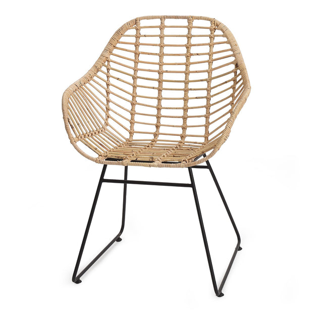 Palu chair in natural, 100% rattan |Find the perfect small furniture