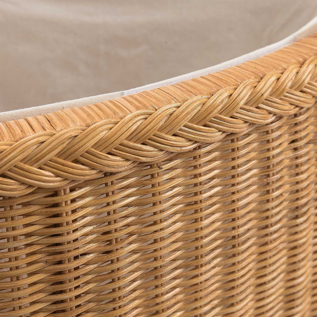 Java laundry basket in honey, 100% rattan |Find the perfect laundry baskets
