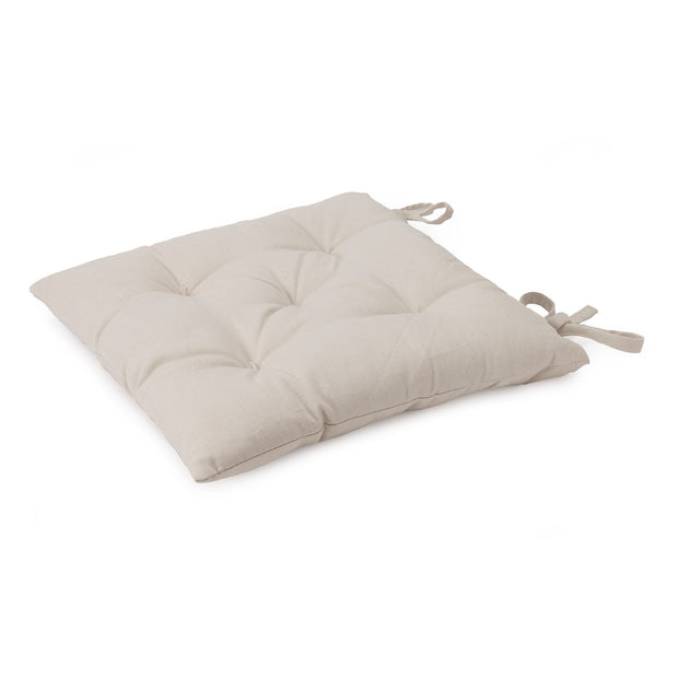 Isaka cushion, natural white, 100% cotton & 100% polyester