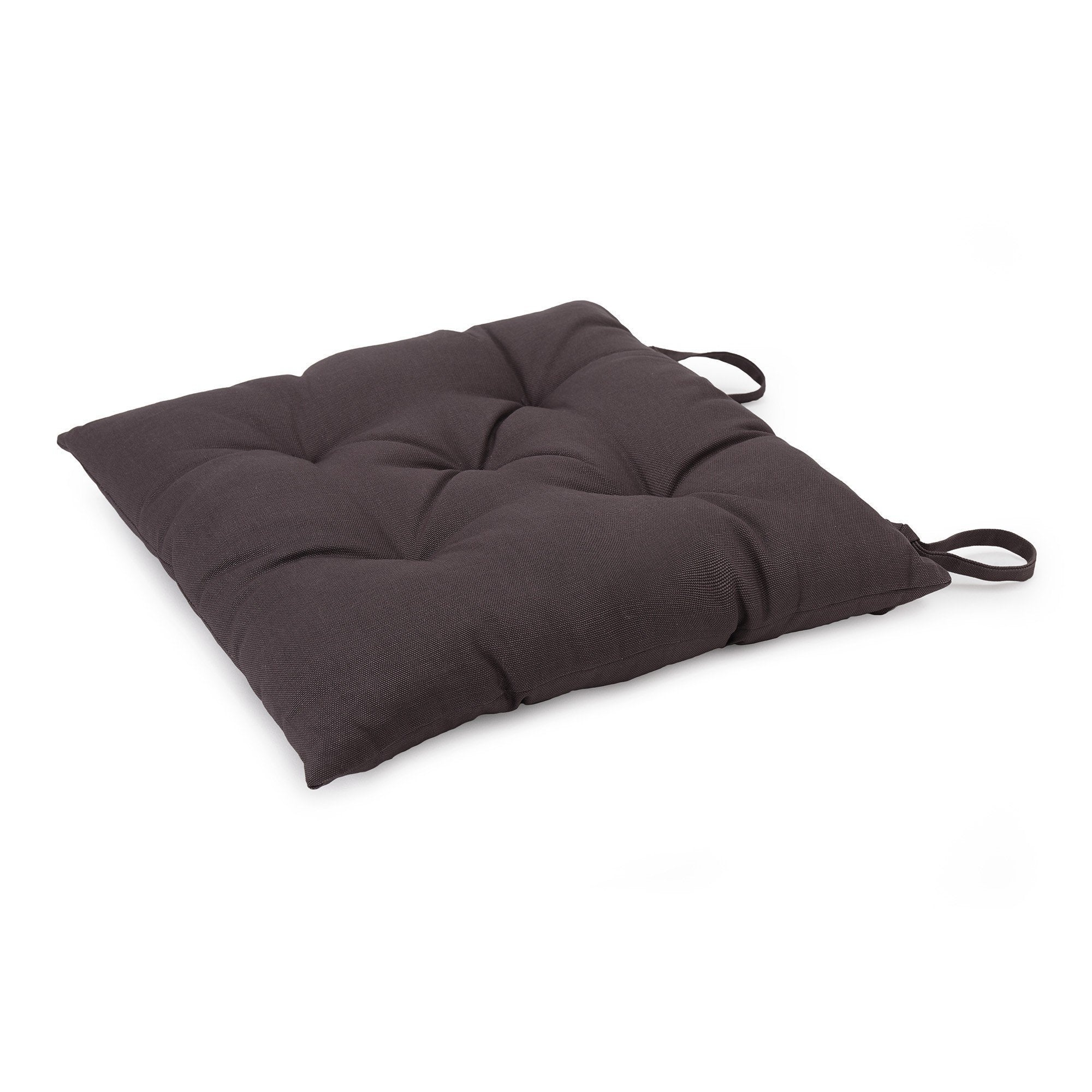 Isaka cushion, dark grey, 100% cotton & 100% polyester