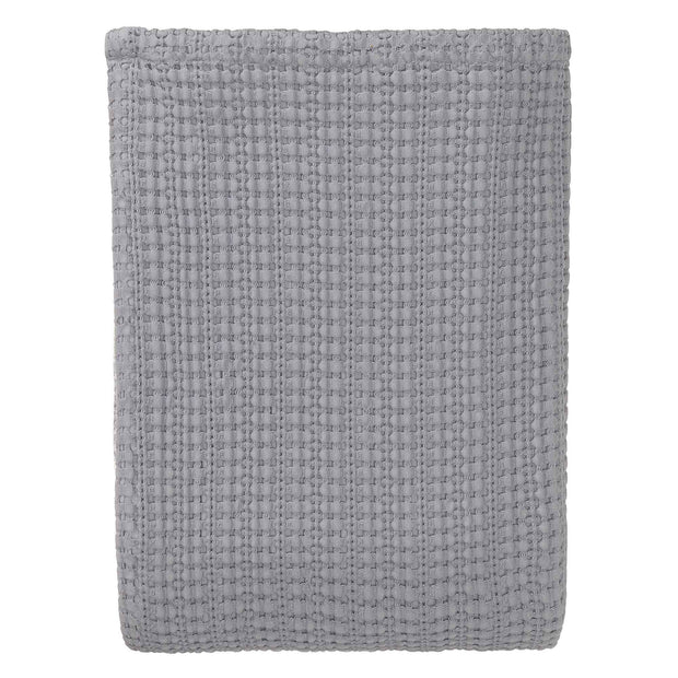 Anadia bedspread, light grey, 100% cotton