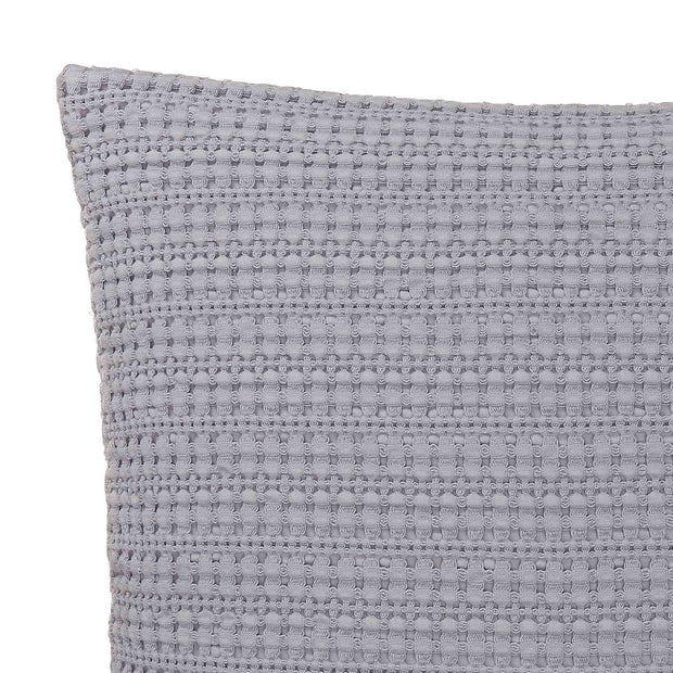 Anadia Cushion light grey, 100% cotton | URBANARA cushion covers