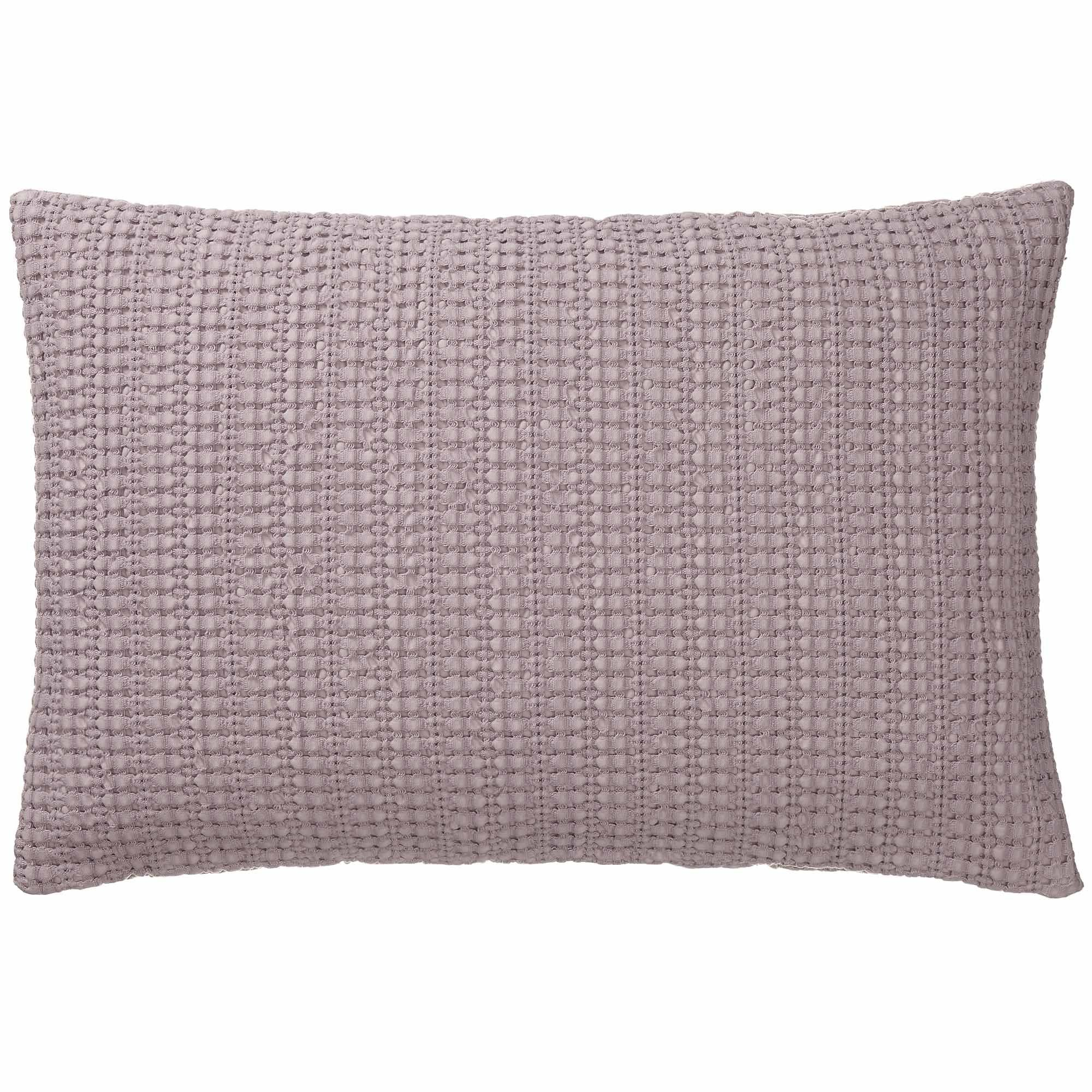 Anadia cushion cover, light mauve, 100% cotton