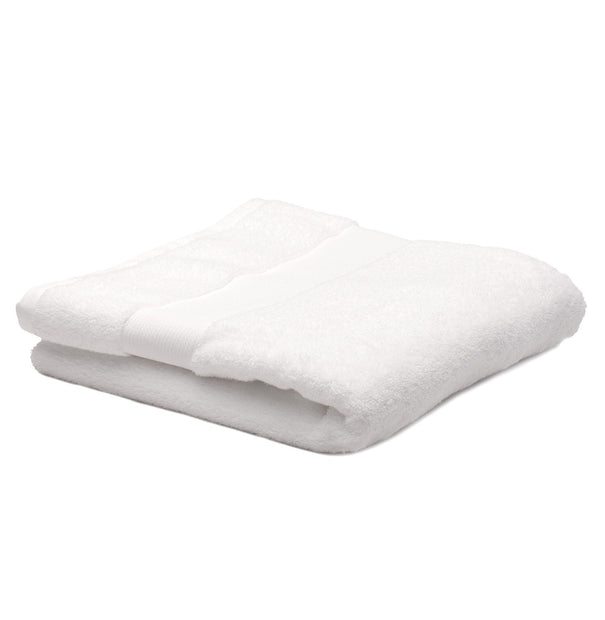 Alvito hand towel, white, 100% zero twist cotton | URBANARA cotton towels