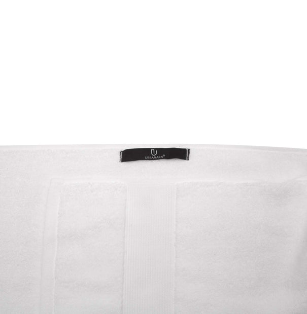 Alvito hand towel, white, 100% zero twist cotton |High quality homewares