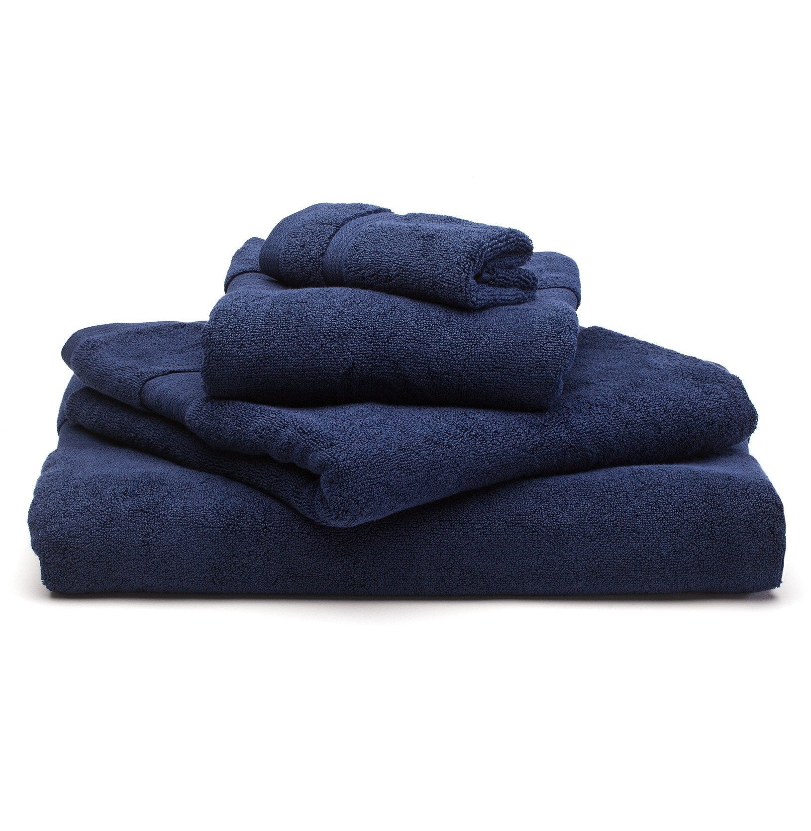 Salema hand towel, dark blue, 100% supima cotton
