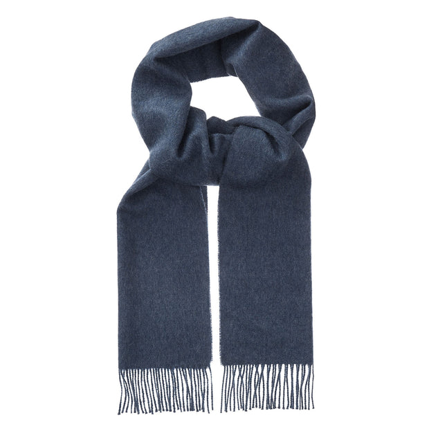 Limon Alpaca Scarf denim blue, 100% baby alpaca wool