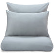 Millau Pillowcase light green grey, 100% cotton