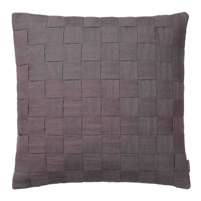 Akole Cushion dark grey, 100% linen