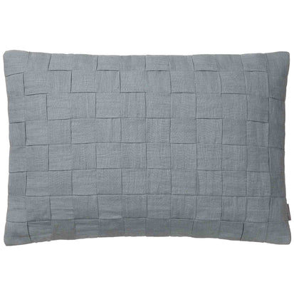 Akole cushion, green grey, 100% linen