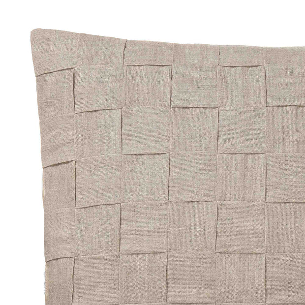 Akole Cushion natural, 100% linen | URBANARA cushion covers