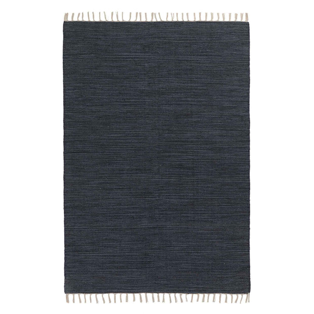 Denim blue melange Akora Teppich | Home & Living inspiration | URBANARA