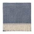 Denim blue & Off-white Alanga Decke | Home & Living inspiration | URBANARA