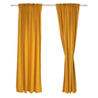 Alegre curtain, mustard, 100% cotton | URBANARA curtains