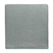 Alvor Blanket green grey & silver grey, 100% cotton