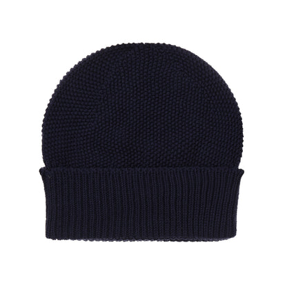 Antua hat, dark blue, 100% cotton