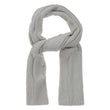 Antua scarf, silver grey, 100% cotton