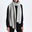 Antua Cotton Scarf [Silver grey]
