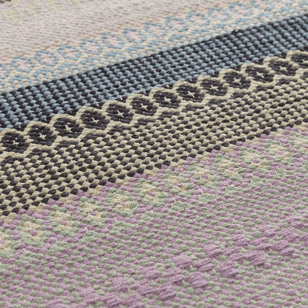 Aonla Rug light green & light yellow & grey, 100% cotton | Find the perfect cotton rugs