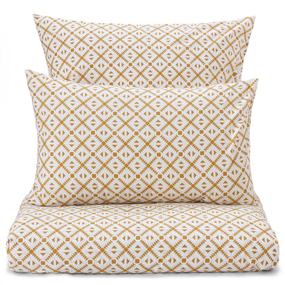 Arouca Bed Linen [White/Mustard]