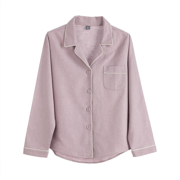 Light mauve & Natural white Arove Pyjama | Home & Living inspiration | URBANARA