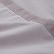 Balaia pillowcase, stone grey, 100% combed cotton | URBANARA percale bedding