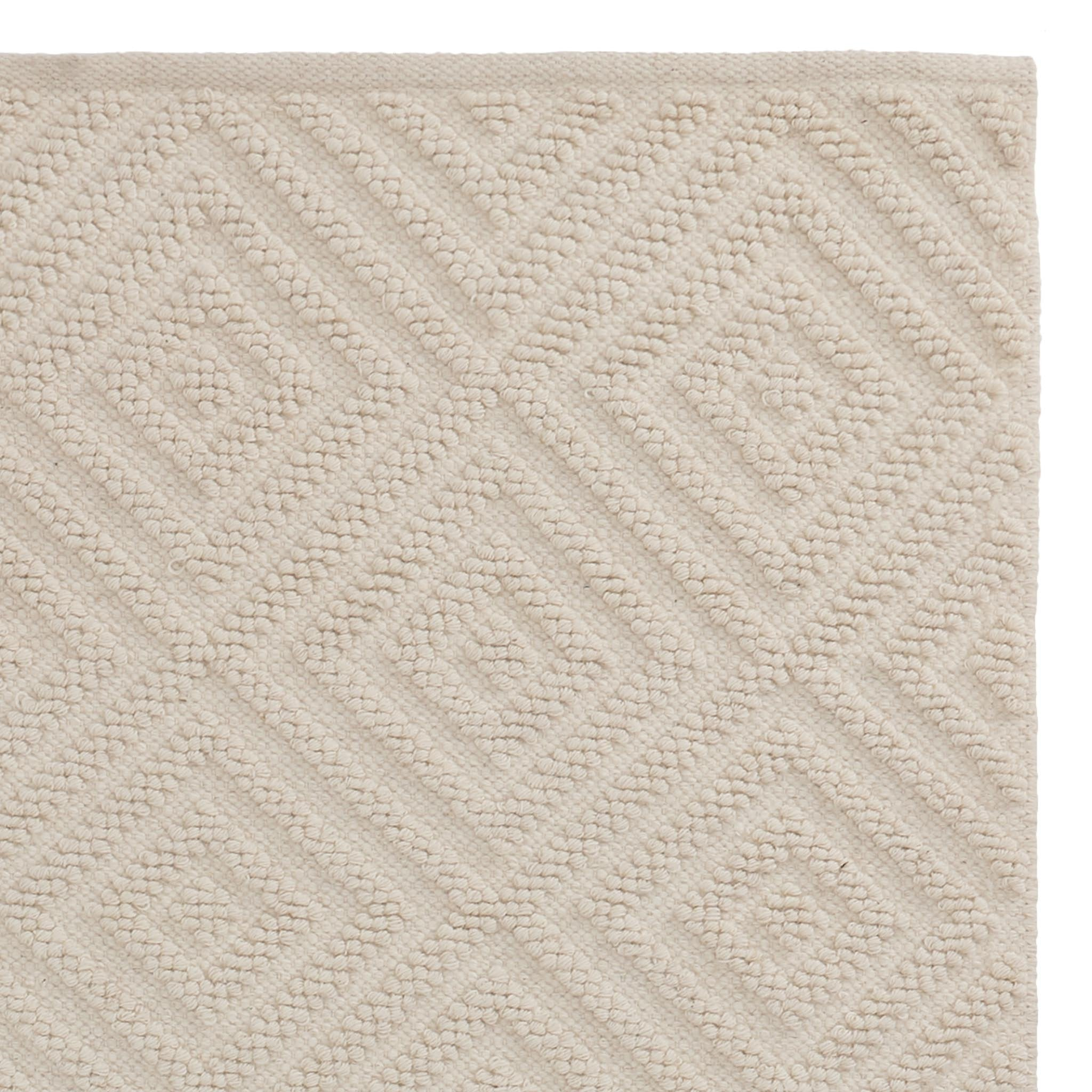 Barod Rug in natural white | Home & Living inspiration | URBANARA