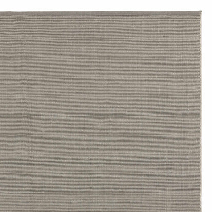 Basni rug, light grey & ivory, 70% wool & 30% cotton